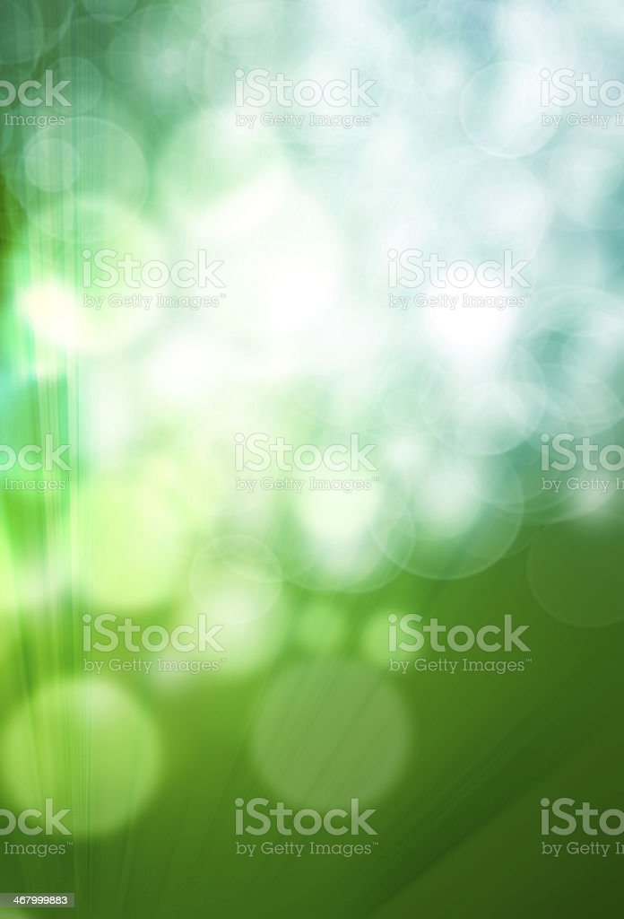 green bokeh abstract light background. royalty-free stock photo