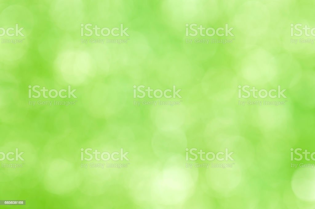 green bokeh abstract light background 免版稅 stock photo