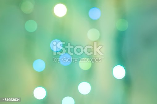 istock green bokeh.  Light blurred background 481953634