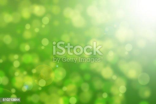 istock Green bokeh 510213644