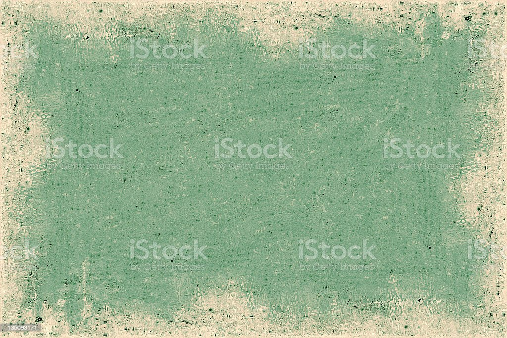 Green Border royalty-free stock photo