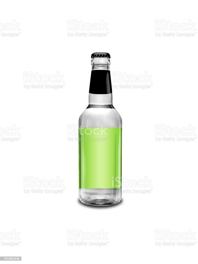 Verde Bottiglia Di Bear Su Sfondo Bianco Fotografie Stock E Altre