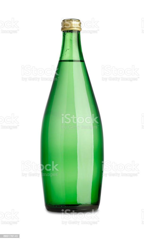 グリーンのボトル ロイヤリティフリーストックフォト