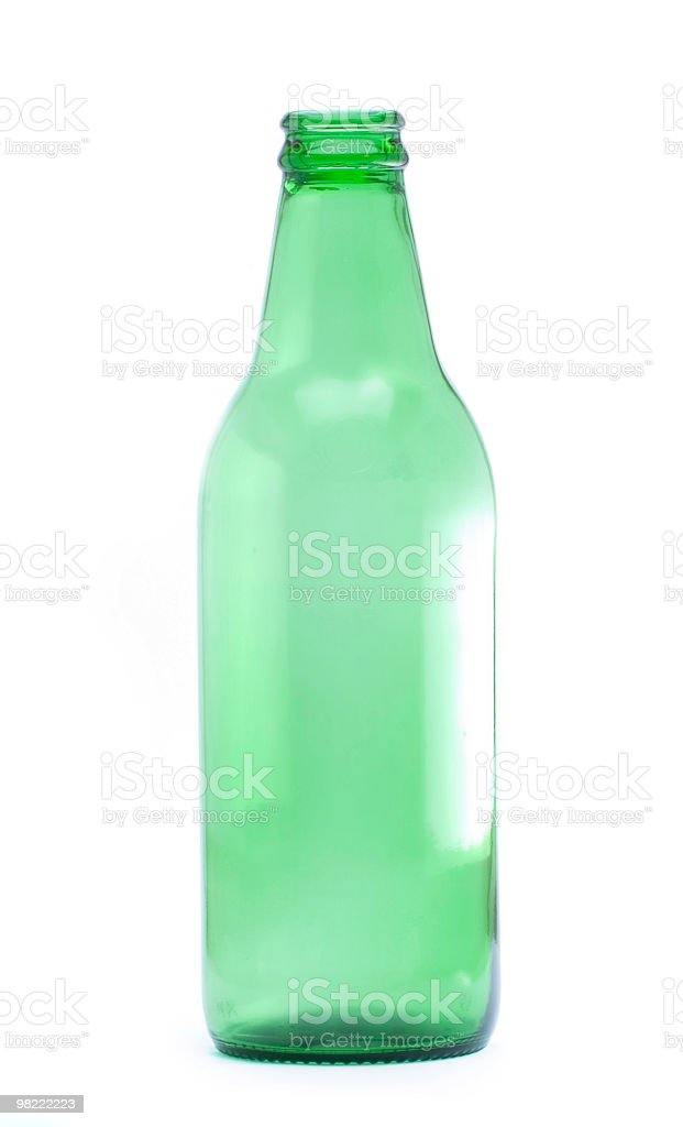 Green Bottle royalty-free stock photo