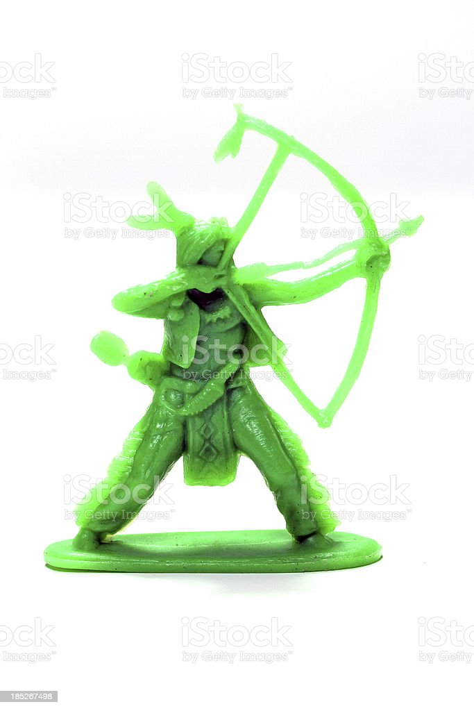 Green Bowman stock photo