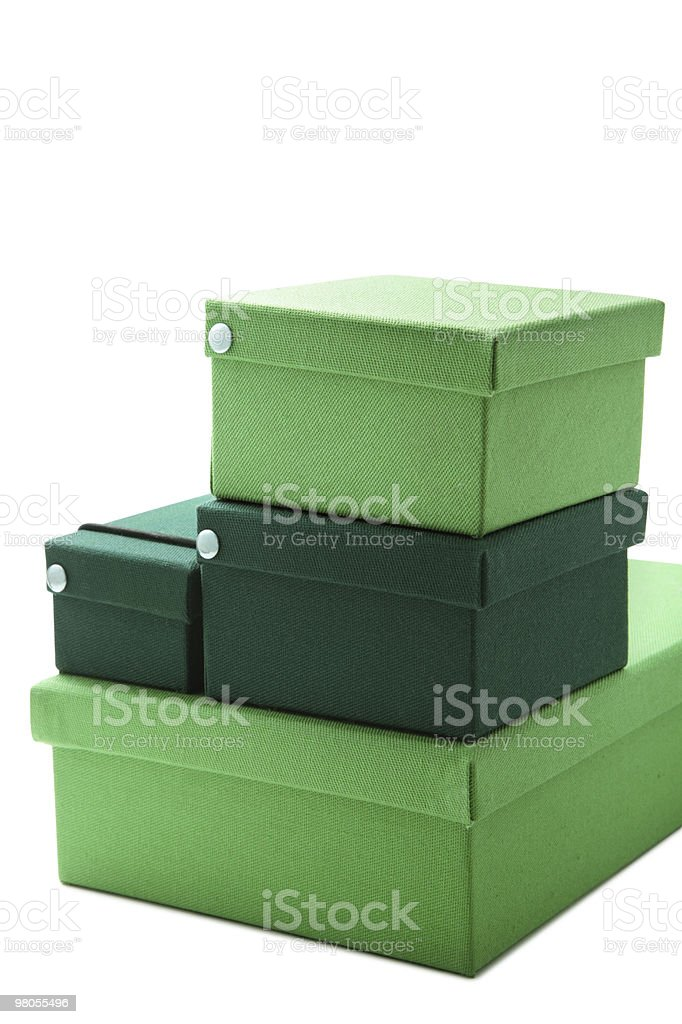 Green Box foto stock royalty-free