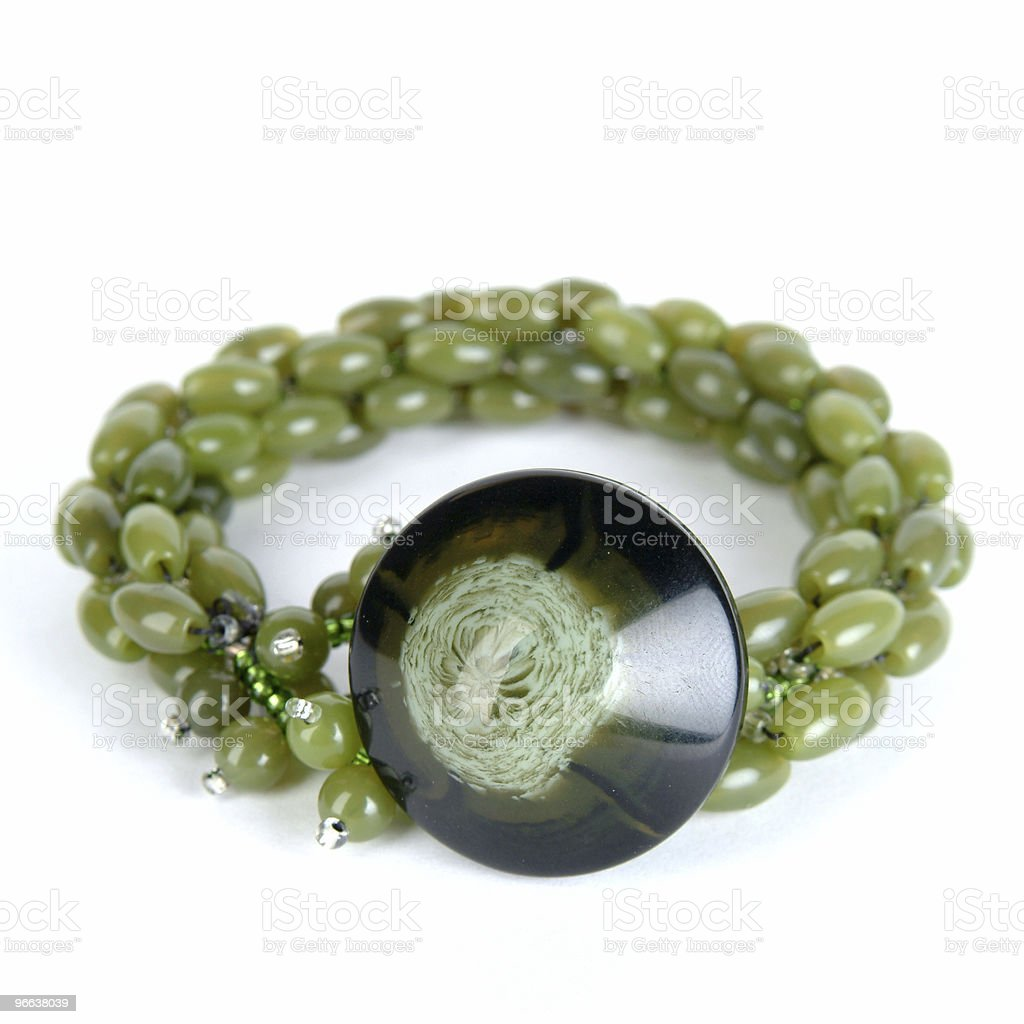 Green Bracelet royalty-free stock photo