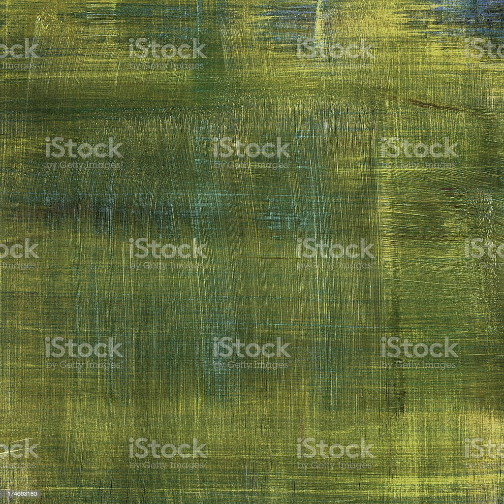 Green Brushed Background royalty-free stock photo