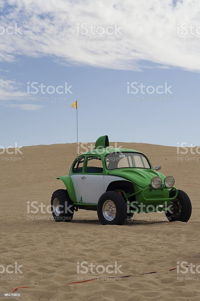 Green Buggy royalty-free stock photo