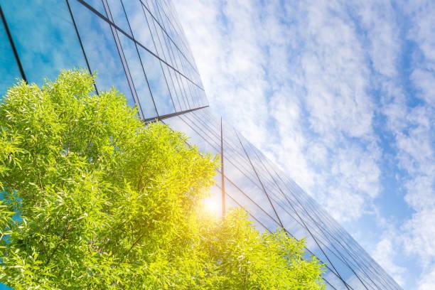 Green Building Architecture stock photo