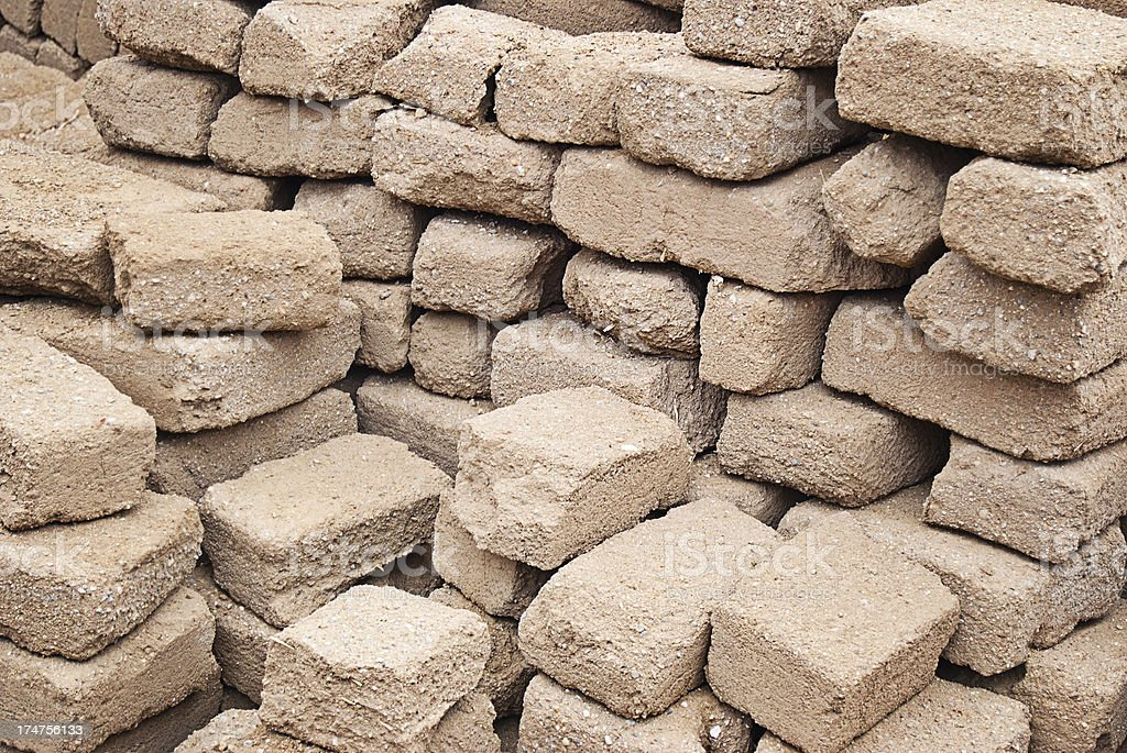 Green building material adobe bricks stock photo more for Adobe construction cost