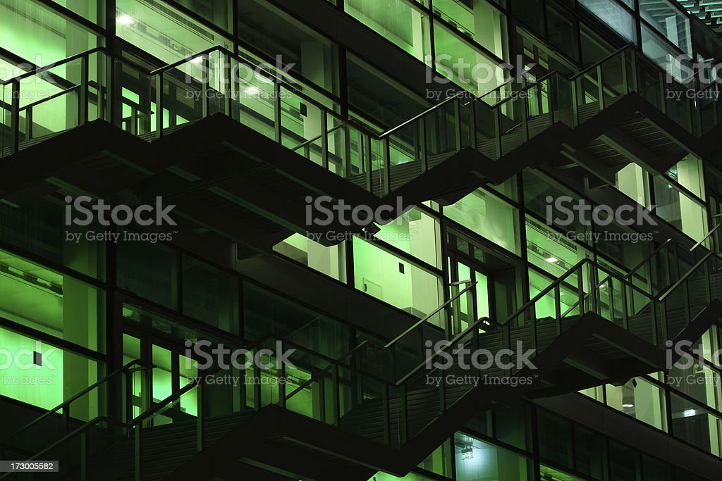 Green building stock photo
