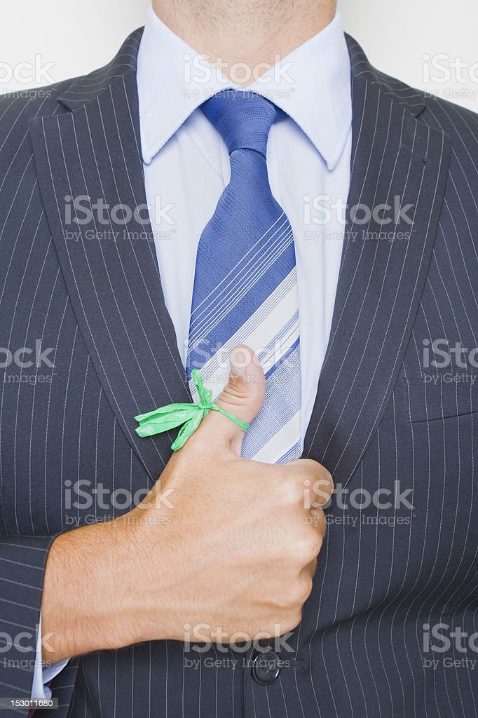 Green Business Future royalty-free stock photo