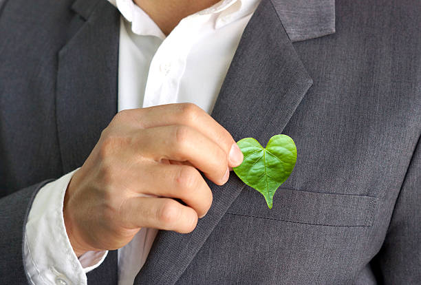 green business - responsible business stock photos and pictures