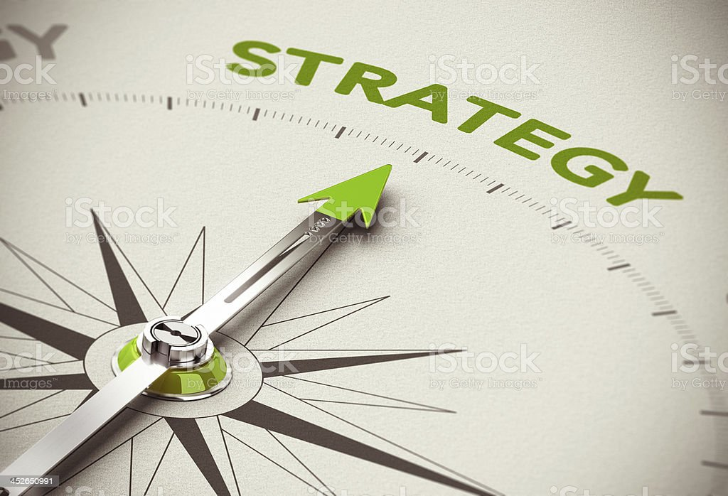 Green Business Strategy stock photo