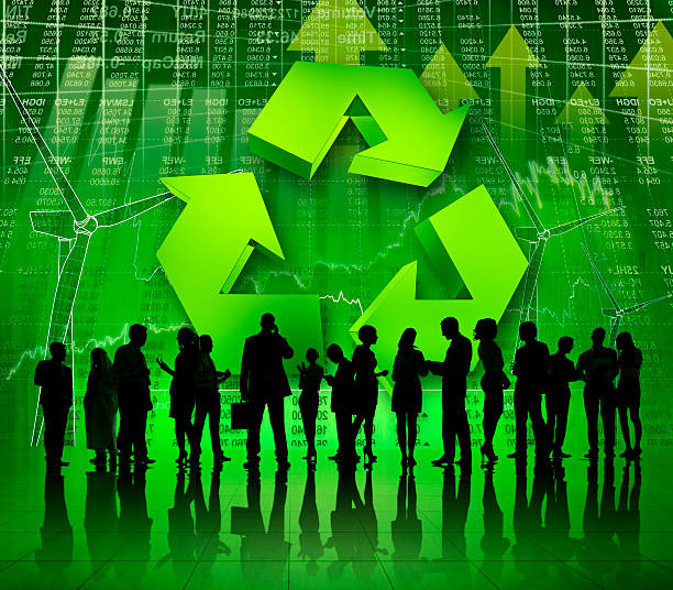 Green Business Success.  social responsibility stock pictures, royalty-free photos & images