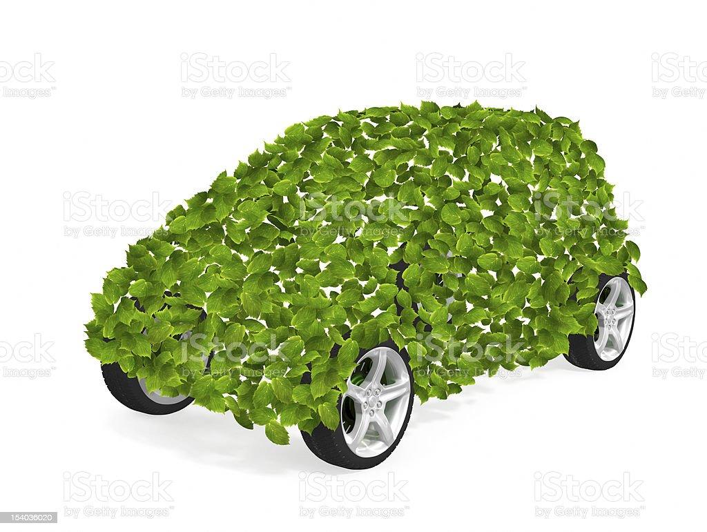 Green car II royalty-free stock photo