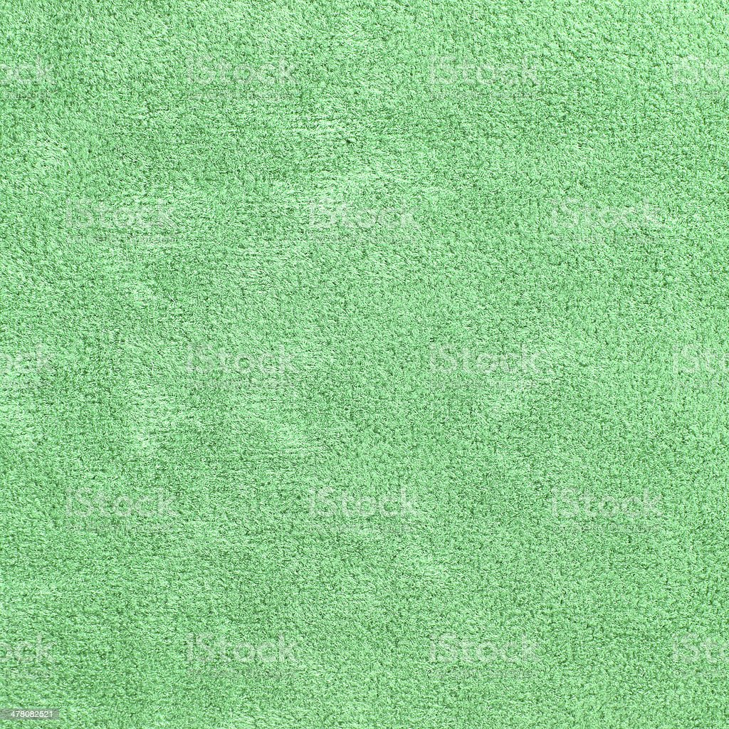 Green carpet texture for background royalty-free stock photo