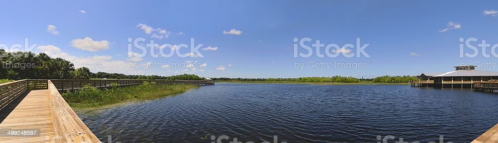 Green Cay Wetlands stock photo