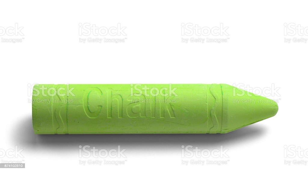 Green Chalk stock photo