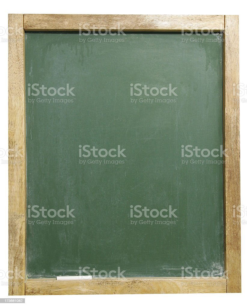 Green Chalkboard 3 royalty-free stock photo