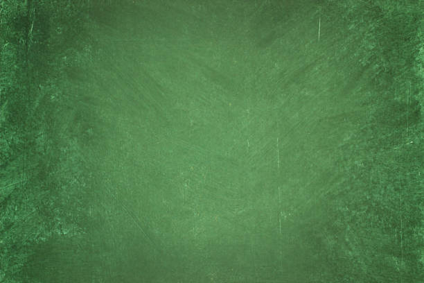 green chalkboard background. clean surface of the blackboard - green color stock pictures, royalty-free photos & images