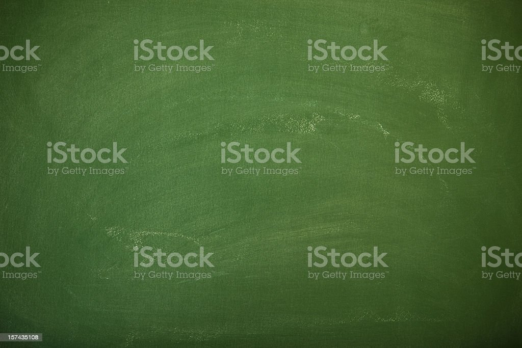Green chalkboard background royalty-free stock photo