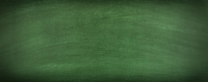 Green Chalkboard Blank Background Texture Of A Clean ...