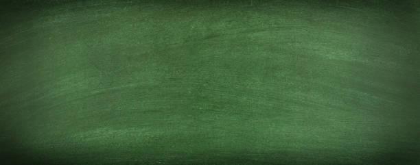 green chalkboard blank background texture of a clean blackboard stock photo