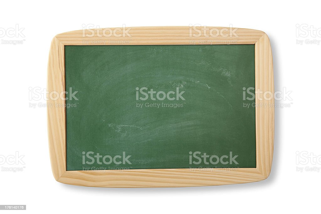 Green Chalkboard royalty-free stock photo