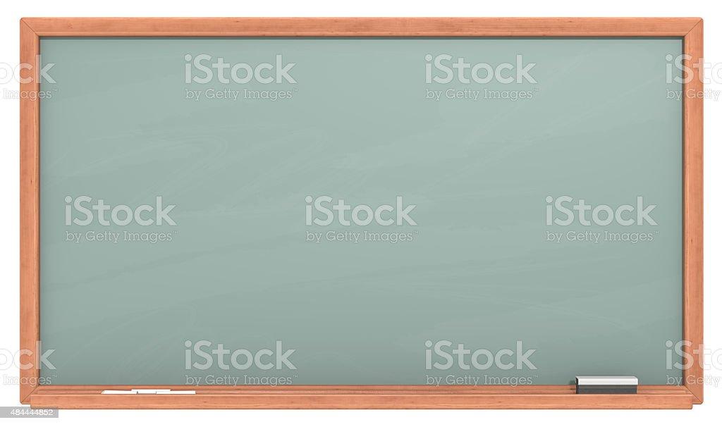 Green Chalkboard. stock photo