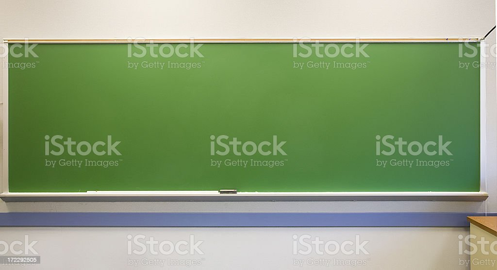 Green Chalkborad royalty-free stock photo