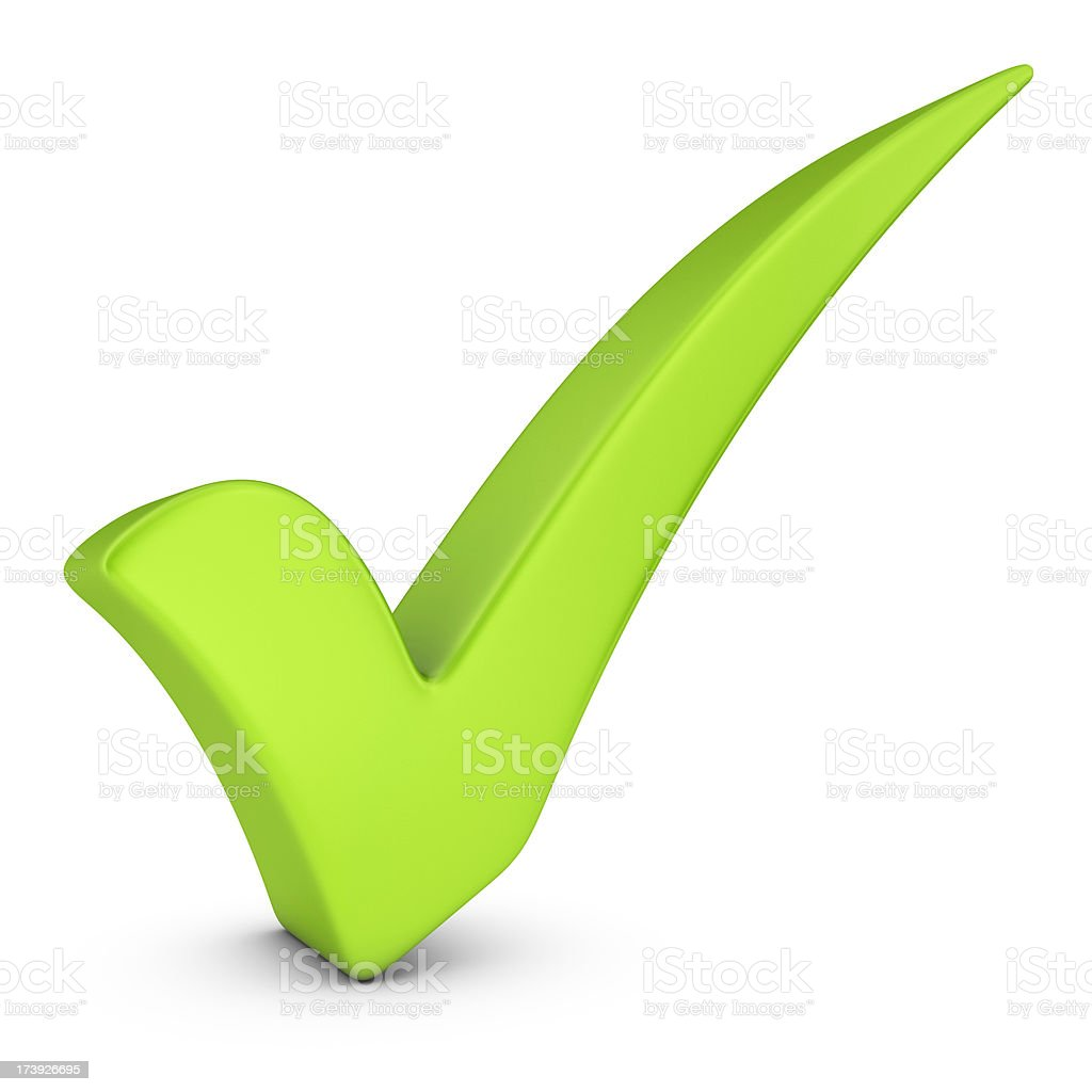 Green Check Mark Stock Photo More Pictures Of Check Mark Istock