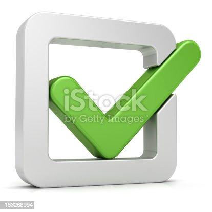 istock Green Check Mark 183268994
