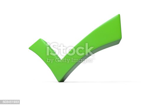 istock green checkmark 503451933