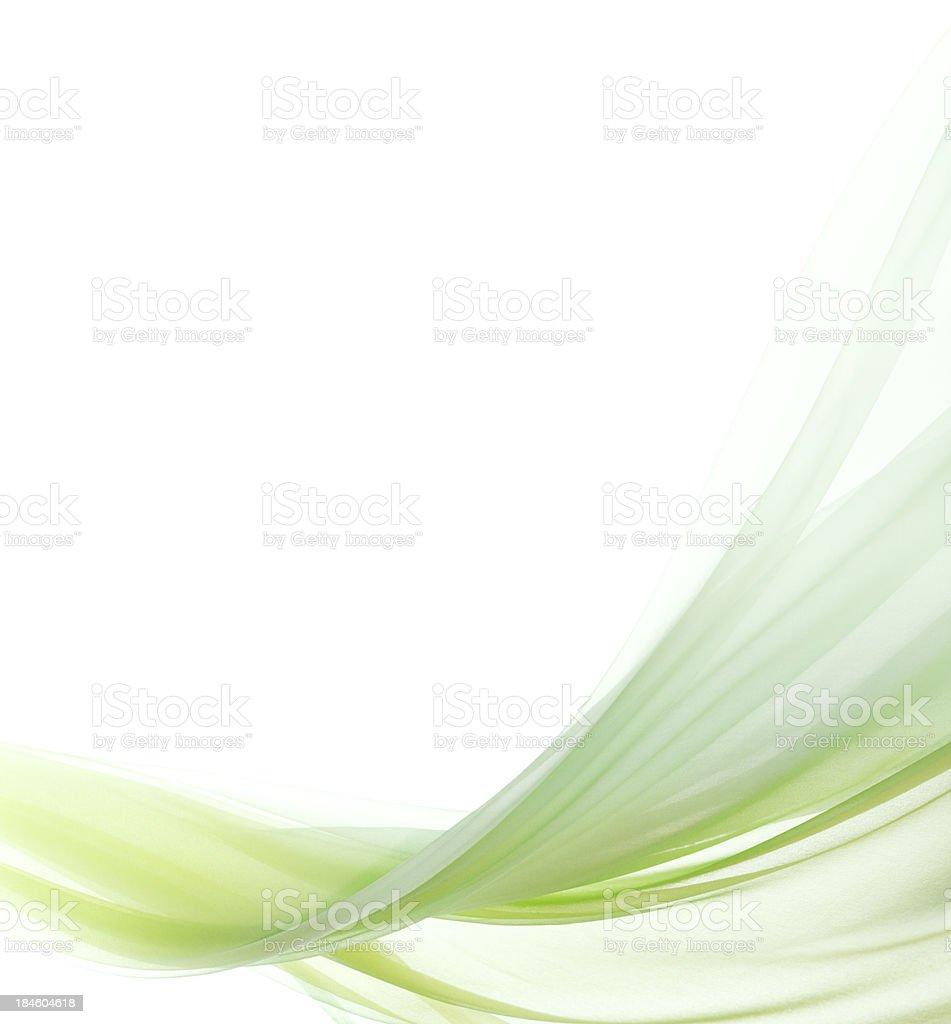 green chiffon stock photo