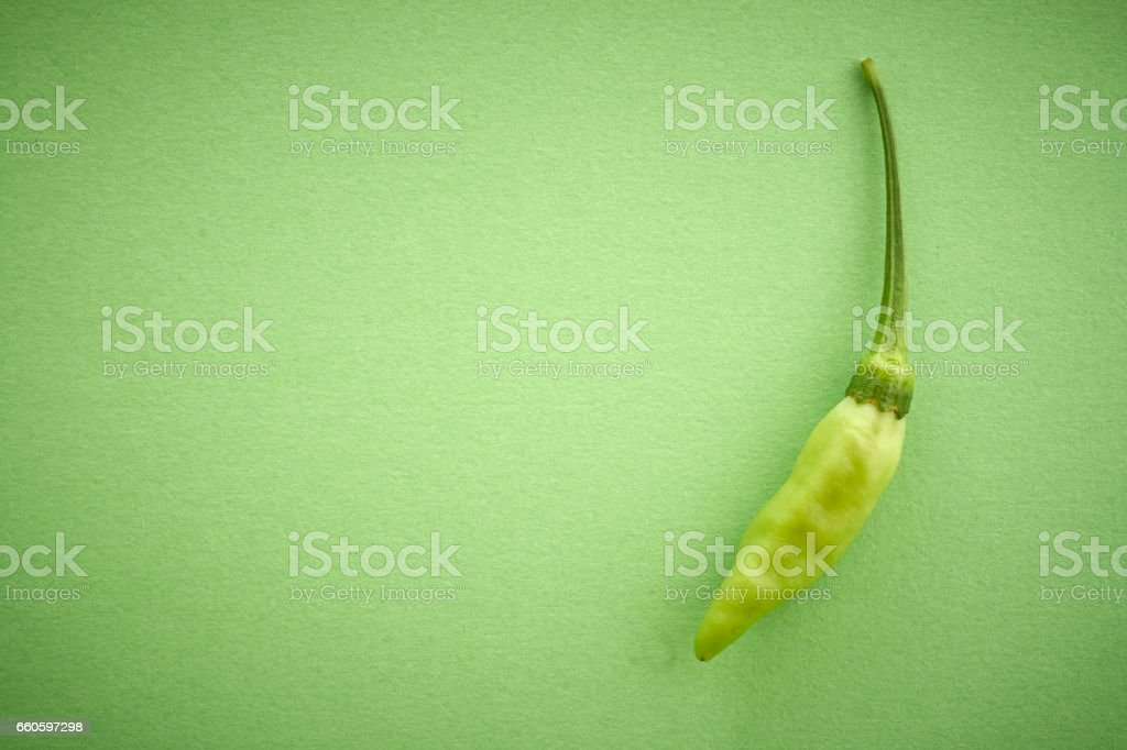 green chilli pepper royalty-free stock photo