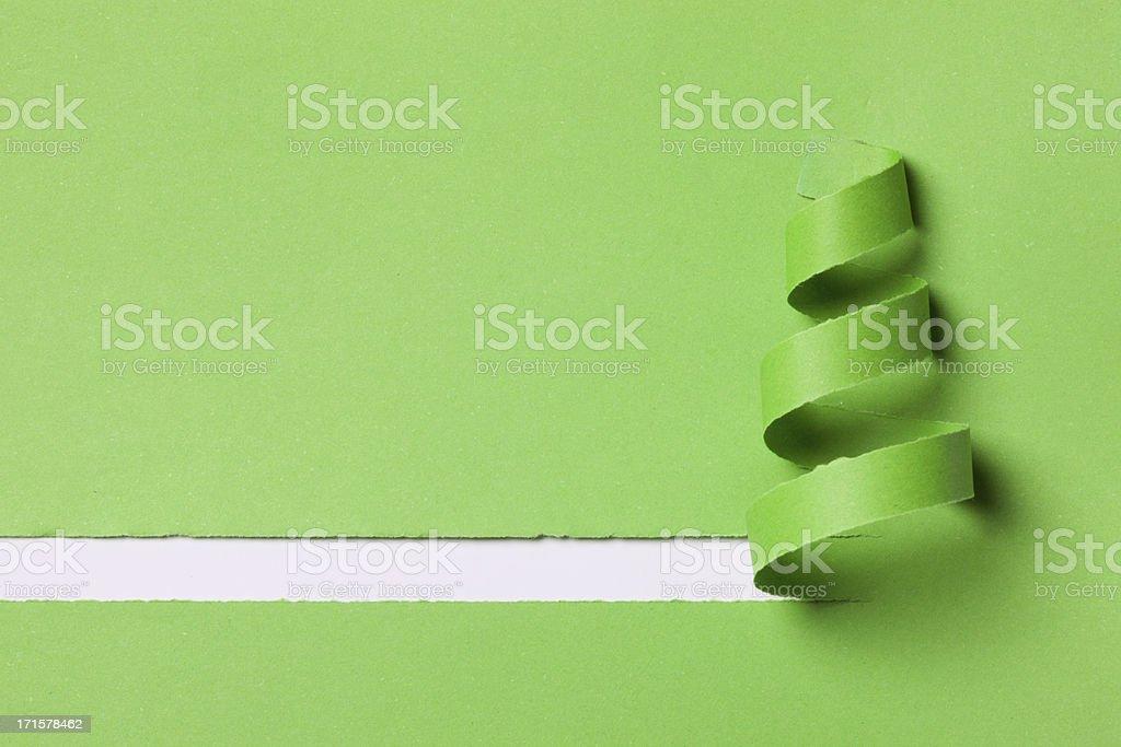 Zielony narodzenia - Zbiór zdjęć royalty-free (Abstrakcja)