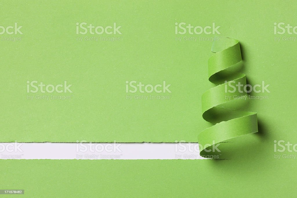 green christmas stock photo