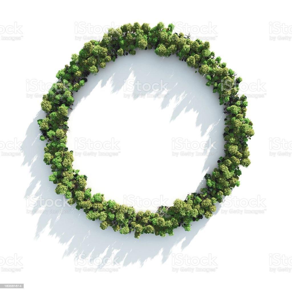 Green Circle royalty-free stock photo