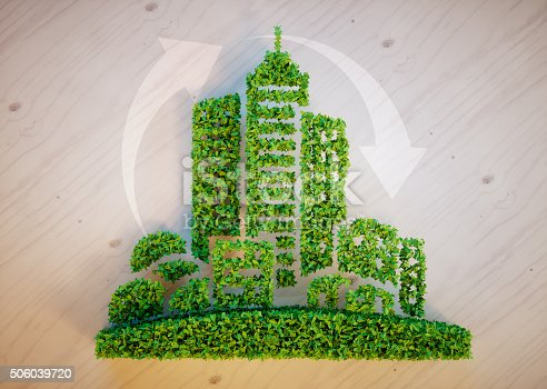 istock Green city concept 506039720