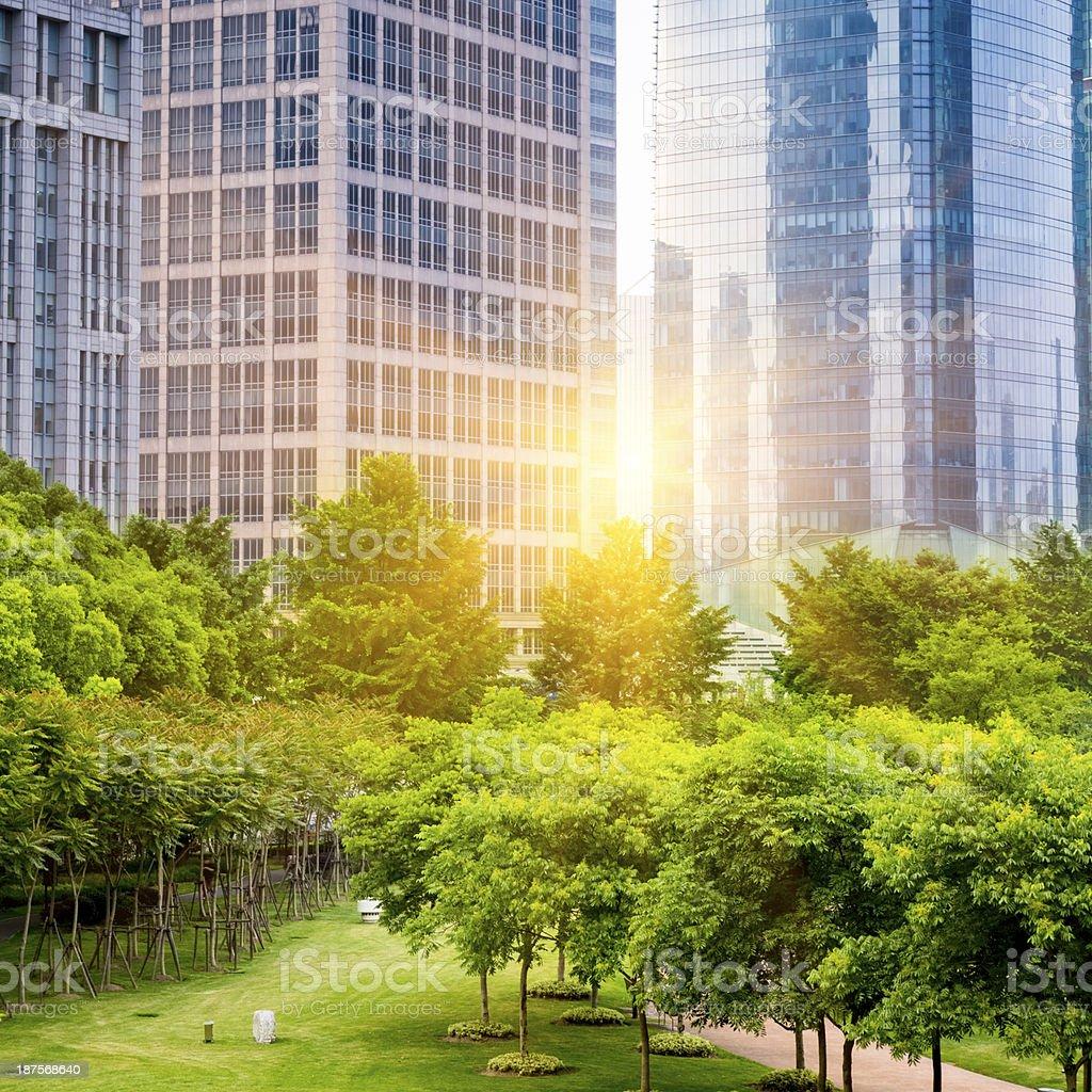 green city park royalty-free stock photo