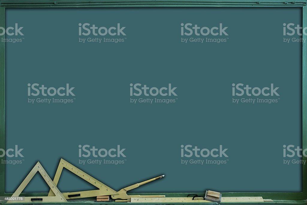green clip board stock photo