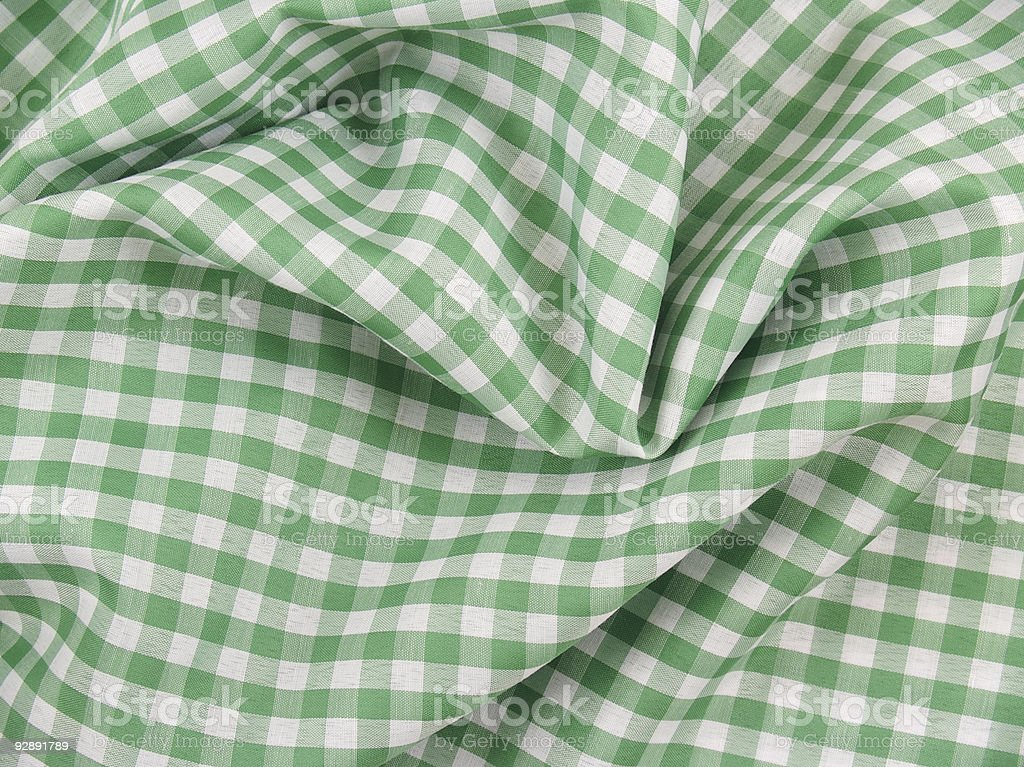 Green Cloth royalty-free stock photo