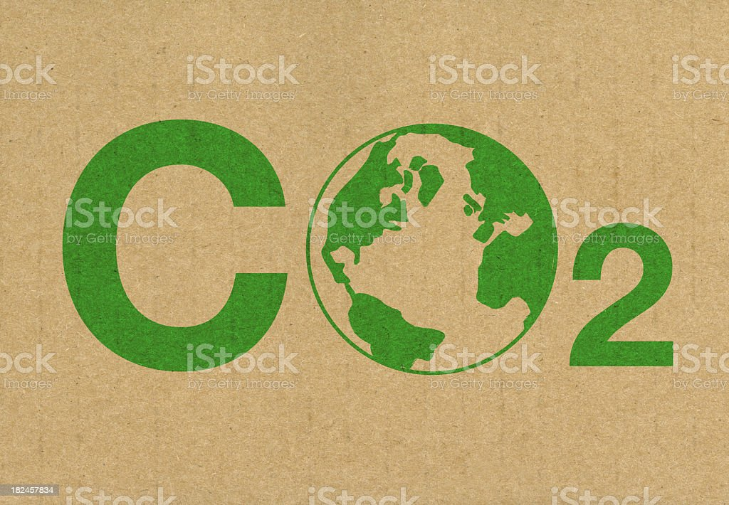 Reducir las emisiones de CO2 - foto de stock