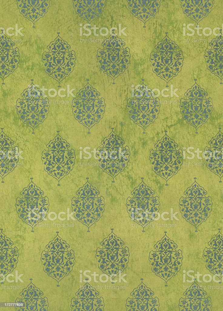 Green Colonial royalty-free stock photo