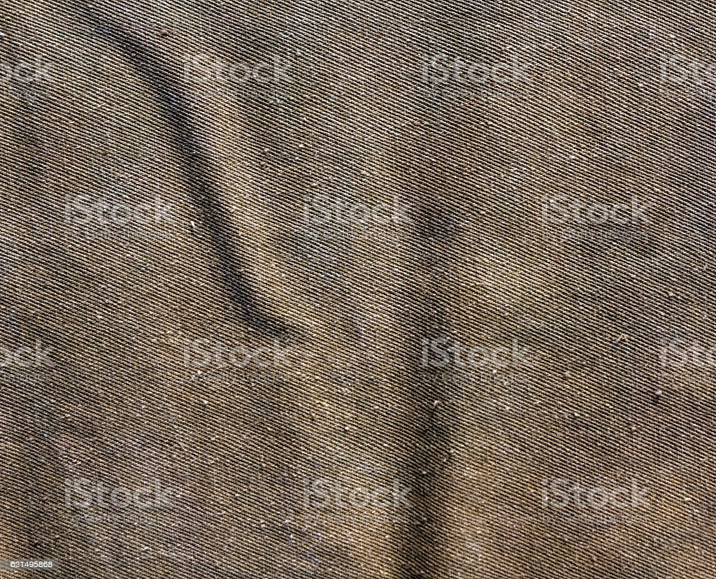 Green color cotton canvas pattern. foto stock royalty-free