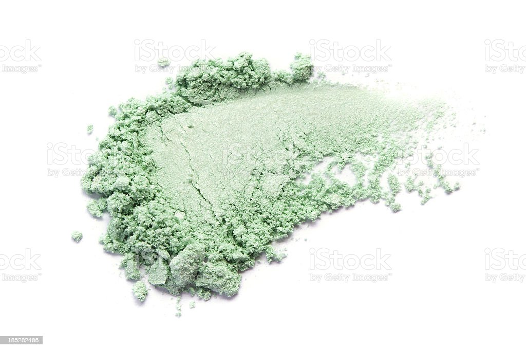 Green Color Eyeshadow royalty-free stock photo