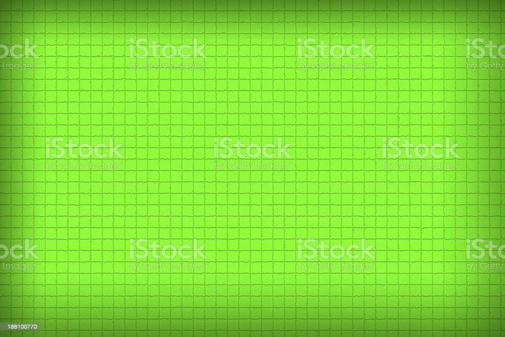 Green color of background and Patterned as black cloth. stock photo