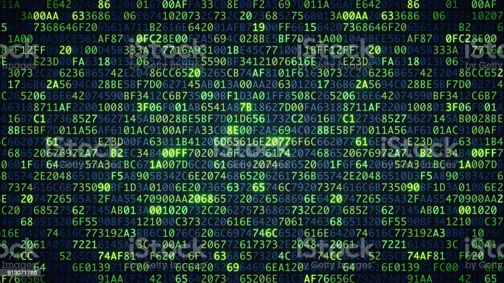 Grüne Computer Code Tapete einfach – Foto